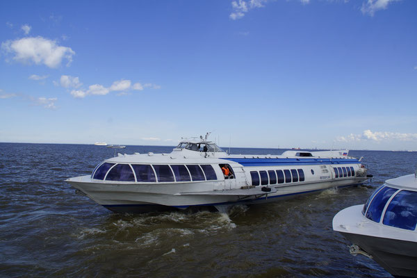 Meteor Tragflügelboot