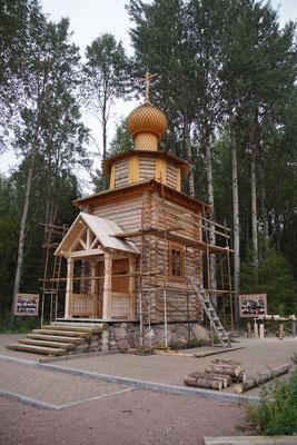 zumindest ist die neue Kapelle fertig