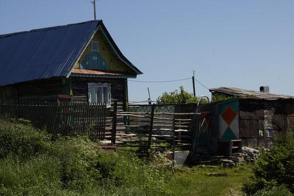 altes russisches Haus