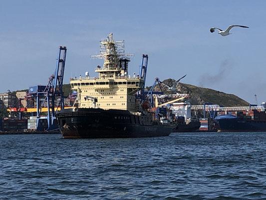 Vladivostok Stützpkt der russischen Eisbrecherflotte für die Nordwest Passage