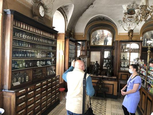 Apotheke als Museuum