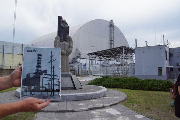 Reaktor 4 und das ursprüngliche Bild