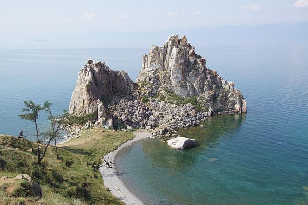 Schamaneninsel am Baikalsee Olhkon
