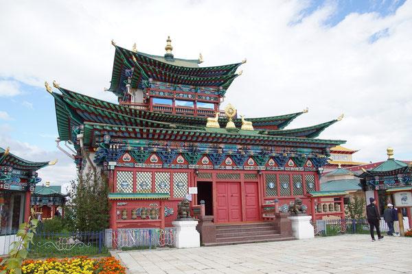 """Tempel des """"untoten""""Lama"""