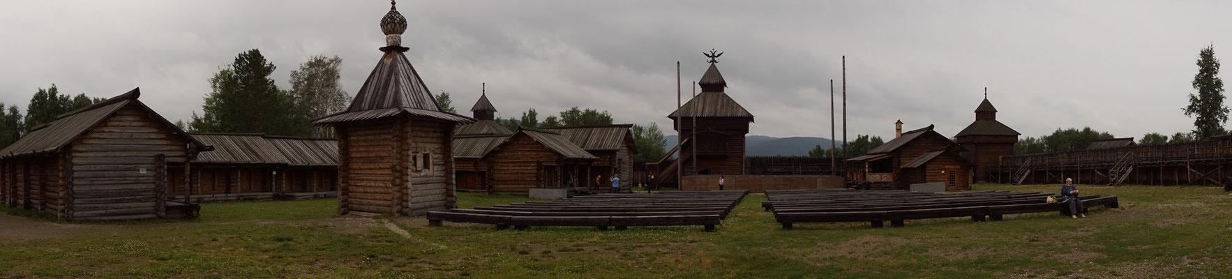 Holzfestung nachgebaut