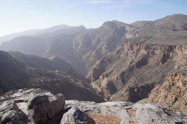 Canyon am Jebel Akhdar