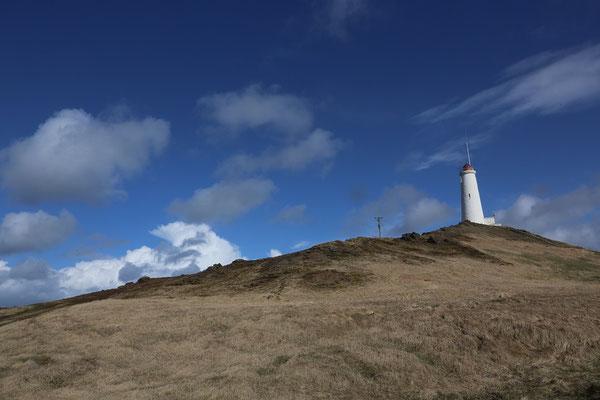 Leuchtturm vom kap Reykjanes