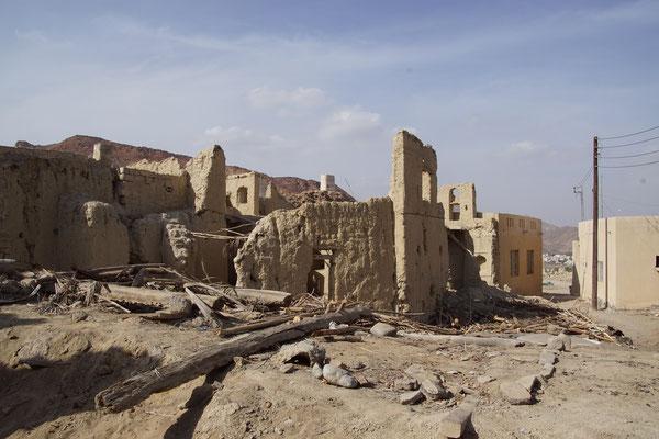 Reste vom alten Al Quabil