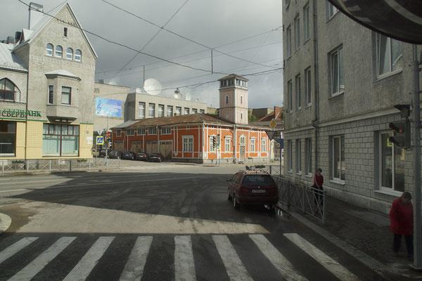 Gebäude in altem finnischen Stil