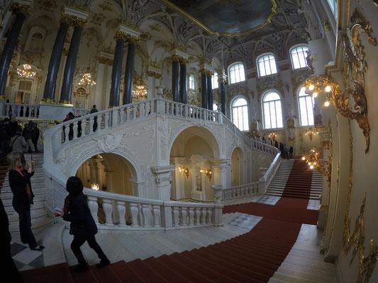 Treppe im Eingang
