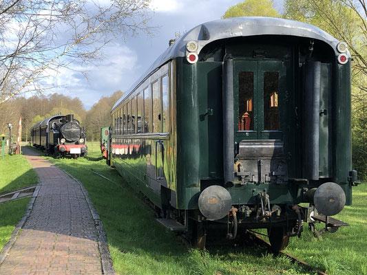 Eisenbahnwaggon als Hotel