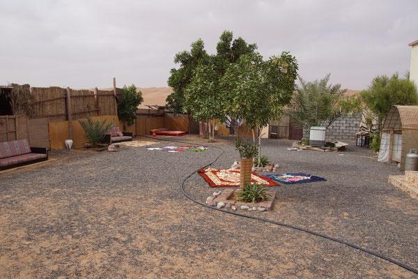 Innenhof eines omanischen Haus