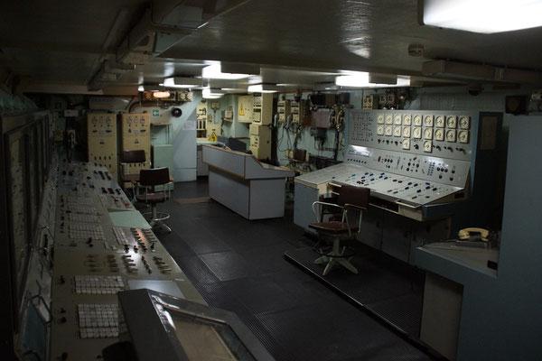 Schaltraum, erinnert an Tschernobyl