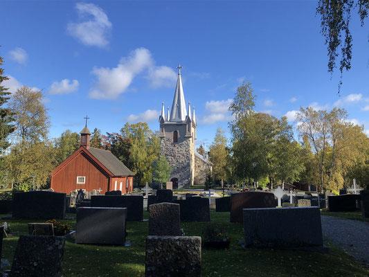 typische finnische Kirche