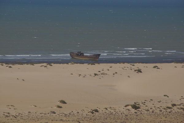 """eines der wenigen """"highlights"""" in der Westsahara"""
