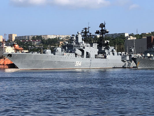 Hier ist auch die russ.Pazifikflotte stationiert