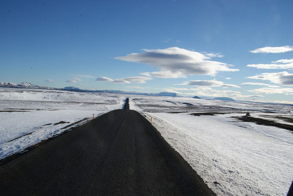 Winter im Hochland
