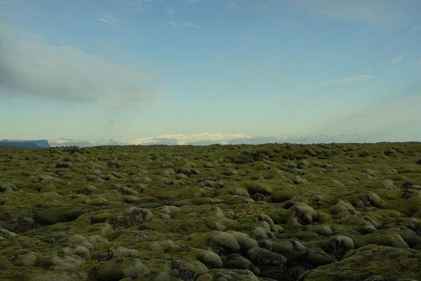 Vatnajökull weit hin sichtbar
