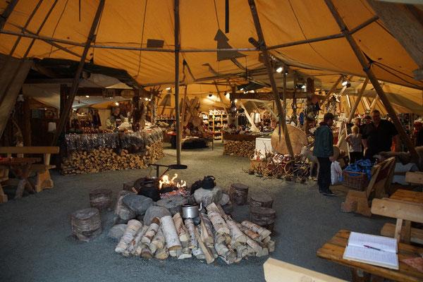 Sami Shop nett arangiert