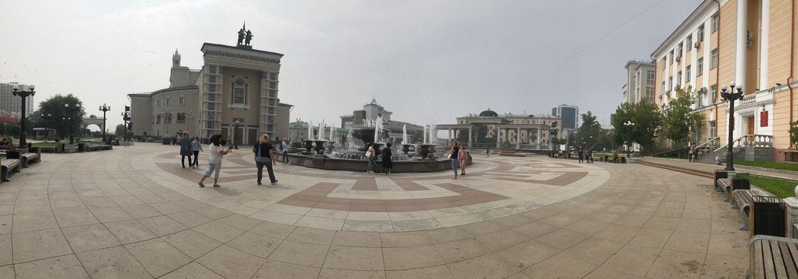 Zentrum von Irkutsk