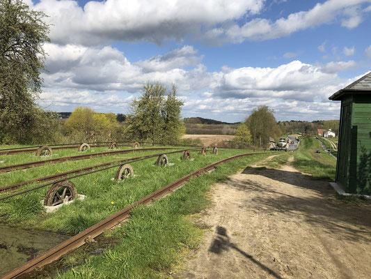 Elblandkanal Schienensystem