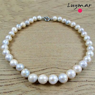 C-30-45CM collar perlas luymar