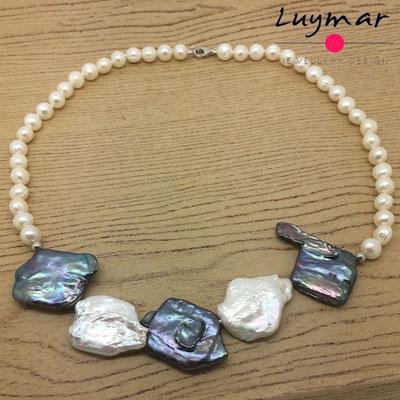 C-17 collar perlas luymar