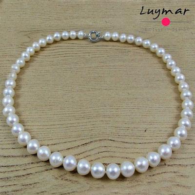 C-23-50cm collar perlas luymar