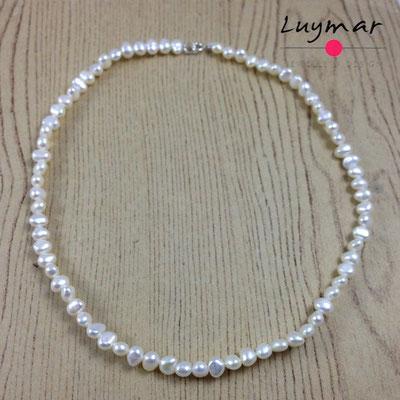 C-4-40cm collar perlas luymar