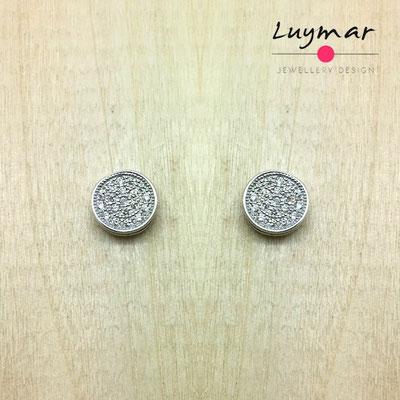 YHCESA09 Pendientes plata circonitas Luymar