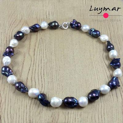C-80-50cm BARROCAS collar perlas luymar