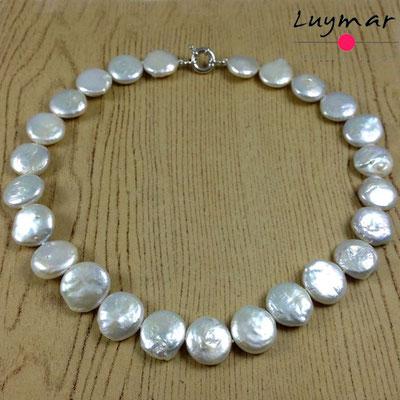 C-25-45cm coin collar perlas luymar