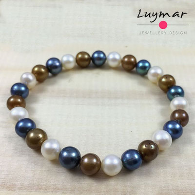 PUL-5-colores pulsera perlas cultivadas Luymar