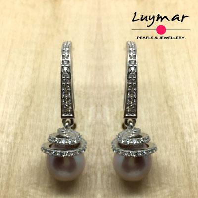 A35104 Pendientes plata Luymar