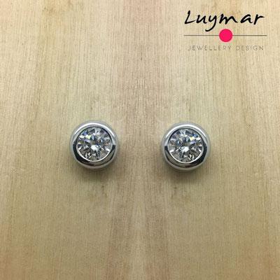 ADC1  Pendientes plata circonitas Luymar