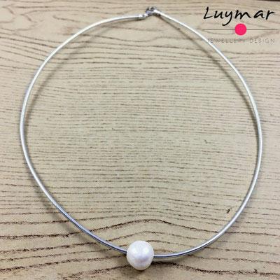 C-6-PLATA PVC perla Luymar