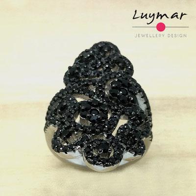 SB5075    Sortija plata circonitas Luymar