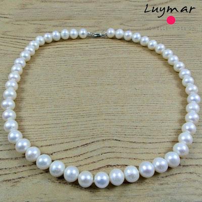 C-10-43cm collar perlas luymar