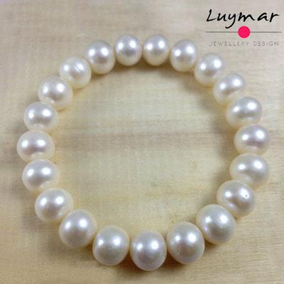 PUL-7 pulsera perlas cultivadas Luymar