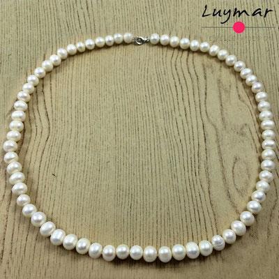 C-16-60CM collar perlas luymar