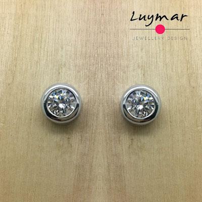 ADC2 Pendientes plata circonitas Luymar