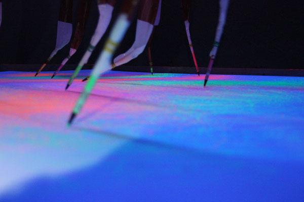 tanzende Stifte