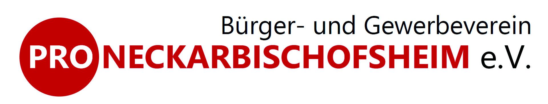 Logo Bürger- und Gewerbeverein Pro-Neckarbischofsheim e.V.