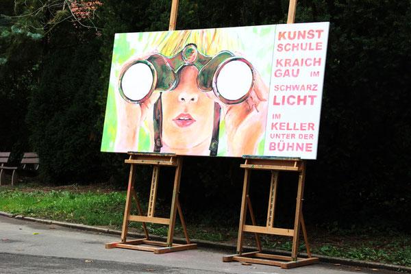 Kunstschule Kraichgau goes Neon 2015