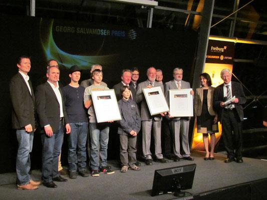 Alle Gewinner des beim Georg-Salvamoser-Preis 2013