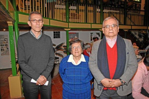 Argemiro Idárraga | LA PATRIA Guillermo Panesso Bonilla, Dorian Hoyos Parra y Octavio Hernández Jiménez
