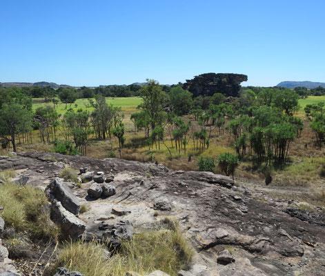 Landschaft bei Ubir