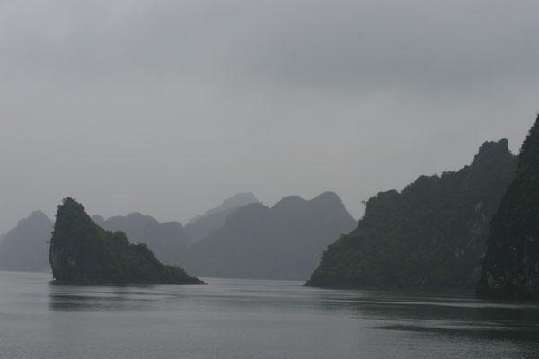 Sie gehörten einst zu einem chinesischen Kalkgebirge, welches dann vom Meer überspült wurde.