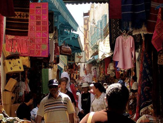 Die Medina von Tunis gehört zum UNESCO - Weltkulturerbe