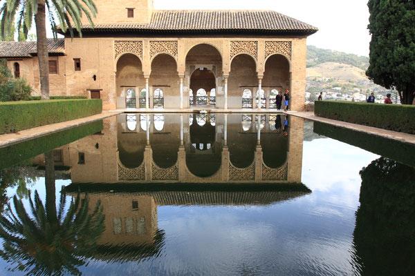 Schönes Wohnquartier in der Medina der Alhambra